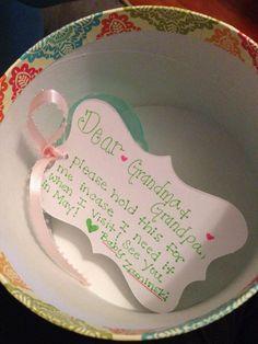 Pregnancy Announcement to Grandparents