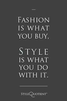 Suit Street: Fashion Quotes