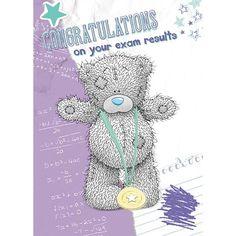 Exam Results Congratulations Me to You Bear Card £1.49