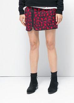 Robe texturée à poches - Femme   MANGO
