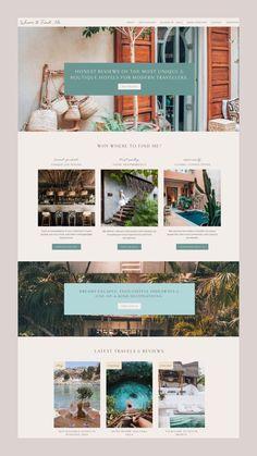 hotel website Custom Wordpress website design for - hotel Travel Website Design, Blog Website Design, Custom Website Design, Wordpress Website Design, Travel Design, Website Web, Custom Design, Website Ideas, Hotel Website Design