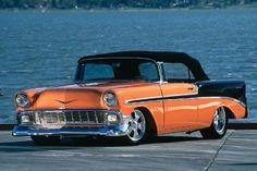 1956 chevy belair convertible | 1956 Chevy Bel Air Convertible - Lake Effect Shoebox