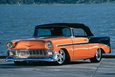 1956 chevy belair convertible | 1956 Chevy Bel Air Convertible - Lake Effect Shoebox