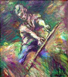 Siena, Fine Art, Prague, Painting, Self, Painting Art, Paintings, Visual Arts, Painted Canvas
