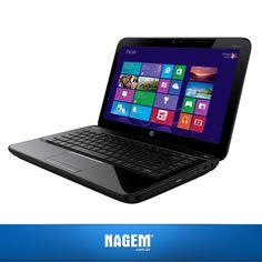 Chegou nossa #OfertaNagem que vai trazer mais rapidez na realização de suas tarefas no PC! Venha conferir o Notebook HP G4-2218BR AMD A8-4500M.