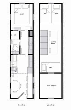 3 Bedroom Small Tiny Home Plans Two Story
