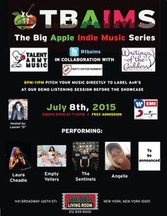 Free Admission, Music Party, Indie Music, Party Entertainment, Your Music, Entertaining, Apple, Big, Apple Fruit