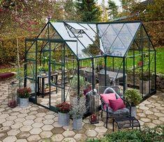 Halls Garden Room Greenhouse - GardenSite.co.uk