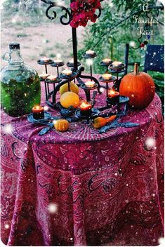 Gypsy Table * This would be a really cool wedding theme *