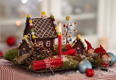 Julekalenderby Christmas Decorations, Table Decorations, Gingerbread, Home Decor, Google, Decoration Home, Room Decor, Ginger Beard, Home Interior Design