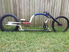 Custom chopper/cruiser Builders in Brisbane - Australian Cycling Forums Cruiser Bicycle, Motorized Bicycle, Bicycle Art, Bicycle Design, Custom Choppers, Custom Bikes, Cool Bicycles, Cool Bikes, Lowrider Bicycle