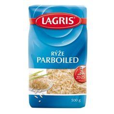 Lagris Rýže PARBOILED dlouhozrnná 500 g - nakupuj na Podravka-eshop.cz