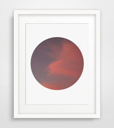 Fuschia Cloud Photography Abstract by MelindaWoodDesigns on Etsy #clouddecor