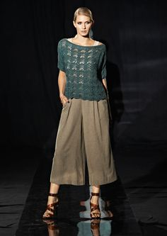 Lana Grossa PULLOVER Allegro Unito - LOOKBOOK No. 1 - Spring Summer 2015 -  Modell 7 88e696ce91