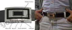 Spy Camera Belt Buckle