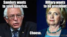 This is a no-brainer.  Bernie Sanders!