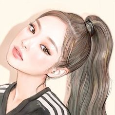 Top Drawing Inspirations : This article is part of the Weekly Inspiration from Gillde. We bring you interesting content by designers, artists. Blackpink Jennie, Lisa Blackpink Wallpaper, Black Pink Kpop, Arte Sketchbook, Blackpink Photos, Pretty Anime Girl, Cool Art Drawings, Blackpink Fashion, Blackpink Lisa
