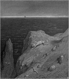 Ariosto -Orlando Furioso, ilustración de Gustave Doré