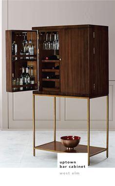 Bone Inlaid Bar Cabinet | Bar, Drinks cabinet and Room