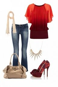 fall 2012 casual outfit  Love Love Love