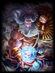 Zeus Default Skin (Smite)