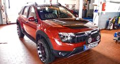 This Custom Dacia Duster from Germany Has Everything You Could Ever Want - Carscoops
