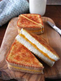 Sándwich de queso a la parrilla comida fieltro por milkfly en Etsy