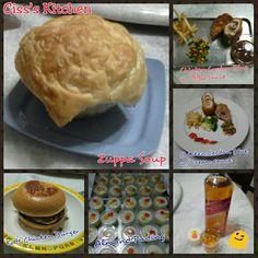 Zuppa Soup, Chicken Cordon Bleu, Almond Pudding...