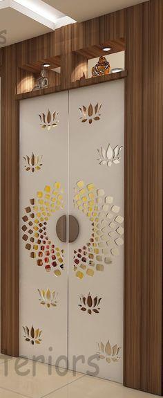 Living Room Tiles Design, Living Room Partition Design, Room Partition Designs, Kitchen Room Design, Door Design Images, Wooden Door Design, Pooja Room Door Design, Door Design Interior, Indian Room Decor