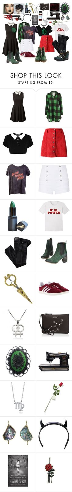 """Homestuck: Kanaya Maryam"" by cartoonvillian ❤ liked on Polyvore featuring Killstar, ATG, Pierre Balmain, Barry M, AG Adriano Goldschmied, Jeffrey Campbell, Giuseppe Zanotti, 1928, adidas and Etienne Aigner"