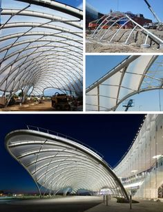 Location: Yonkers, New YorkFabric Type: ETFE FilmMarket Sector: Entertainment & LeisureProject Size: 11,000 sq.ft.Architect: Studio V Architecture, PLLC, New York, NYOwner: Yonkers Raceway and Casino, Yonkers, NYEngineer: FTL, New York, NYGeneral Contractor:  LP Ciminelli, Buffalo, NYCompletion Date: 2013