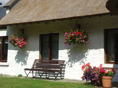 Six exclusive 300 year old luxury thatched holiday cottages in Ireland.