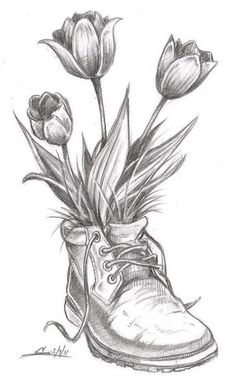 Flower Drawing Flower Sketch Drawings Ideas On Pretty Jpg . flower drawing Flower sketch drawings ideas on pretty jpg sketch drawing ideas - Sketch Drawing Tulip Drawing, Pencil Sketch Drawing, Pencil Shading, Plant Drawing, Painting & Drawing, Drawing Ideas, Drawing Drawing, Drawing Tips, Pencil Drawing Inspiration