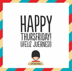 #Happy thursfriday!! #weekend is coming