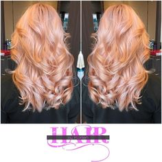 Rose Gold.#igetgoodhairbyKaysloxx #Kaysloxx #Hairporn #Haircolor #Haircuts… Peach Hair, Pink Hair, Rose Gold Hair Brunette, Strawberry Blonde Hair, Pinterest Hair, Hair Affair, Fashion Mode, Fall Hair, Pretty Hairstyles