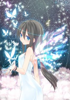 Image result for anime butterflies