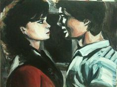 "Artwork from V: The Series (1984-1985) ""Don't Be Shy"" by Beatrice Tozzi---- feat. Jane Badler and Jeff Yagher"
