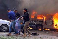 90 killed in Thursday's Damascus bombings: group