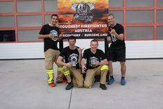 """Einen Härtetest der ganz speziellen Art haben fünf Florianijünger aus Salzburg hinter sich. Sie gingen am Samstag beim internationalen Bewerb """"Toughest Firefighter Austria"""" an den Start – mit beeindruckenden Ergebnissen."""