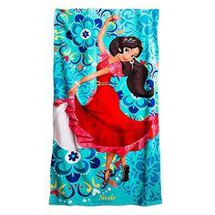 Disney Store Elena of Avalor Beach Towel – Blue