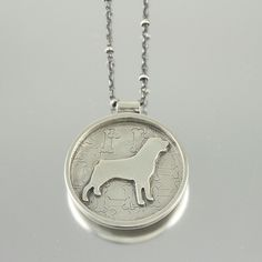 I Love My Rottweiler Necklace