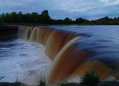 Jagala Waterfall in Estonia | Europe a la Carte Travel Blog