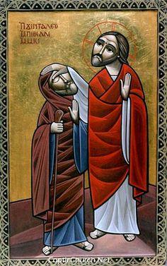 jesus_03 Coptic icons @pravmir.com