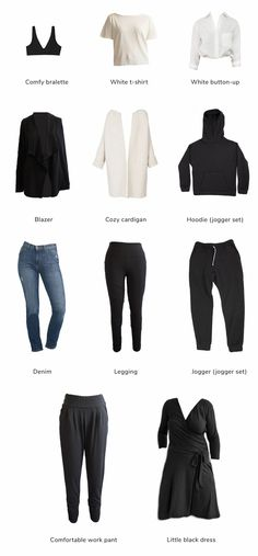 10 Basics You Need in Your Wardrobe - Encircled We Wear, What To Wear, Minimalist Fashion, Minimalist Outfits, Loungewear Set, How To Make Tshirts, Fast Fashion, Work Pants, Capsule Wardrobe