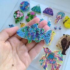 Aggiornamenti di LiskaFlower su Etsy Polymer Clay, Crochet Earrings, Wallpapers, Mirror, Etsy, Vintage, Beautiful, Jewelry, Jewlery