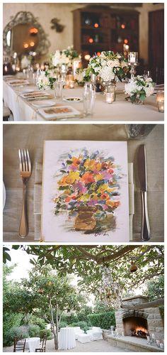 Santa Barbara Wedding - beautiful table!