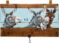 Fabulous Drawing On Creativity Ideas. Captivating Drawing On Creativity Ideas. Wood Pallet Art, Pallet Painting, Farm Paintings, Animal Paintings, Donkey Drawing, Barnyard Animals, Acrylic Artwork, Painting Inspiration, Painting & Drawing