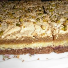 Hungarian Recipes, Tiramisu, Food And Drink, Pastries, Ethnic Recipes, Sweets, Cakes, Diets, Sweet Pastries
