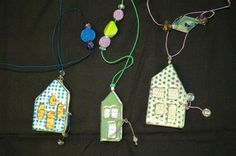 Enameled Memory Booklet Necklace at Art and Soul Retreat