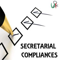 At U n I Comply, we do all the secretarial #compliance (#ROC, #MCA, #Filings etc) & ensure you are fully compliant!